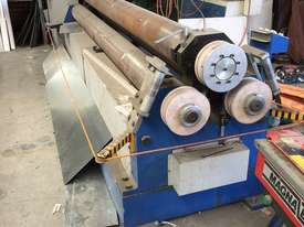 Just Traded - 3100mm x 6.5mm Plate Rollers with Stub Extension End Formers - picture15' - Click to enlarge