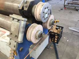 Just Traded - 3100mm x 6.5mm Plate Rollers with Stub Extension End Formers - picture16' - Click to enlarge