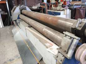 Just Traded - 3100mm x 6.5mm Plate Rollers with Stub Extension End Formers - picture1' - Click to enlarge