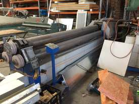 Just Traded - 3100mm x 6.5mm Plate Rollers with Stub Extension End Formers - picture17' - Click to enlarge