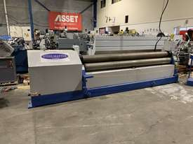 Just Traded - 3100mm x 6.5mm Plate Rollers with Stub Extension End Formers - picture18' - Click to enlarge