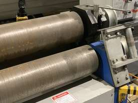 Just Traded - 3100mm x 6.5mm Plate Rollers with Stub Extension End Formers - picture4' - Click to enlarge
