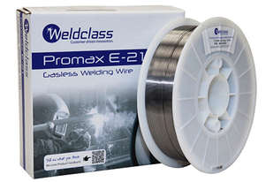 GASLESS WIRE 4.5KGROLL 0.9MM PROMAX E-21
