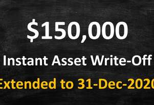 CLAIM YOUR $150,000 FEDERAL GOVERNMENT INSTANT ASSET WRITE OFF
