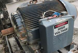 185 kw 250 hp 6 pole 992 rpm 3300 volt 355 frame POPE AC Electric Motor