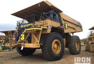 1991 Cat 785 Off-Road End Dump Truck