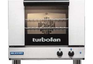 TURBOFAN E22M3 - 3 HALF SIZE TRAY MANUAL ELECTRIC CONVECTIONS OVEN