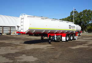 Unused 2020 Action Tri Axle Water Tanker Trailer (33,000Ltrs)