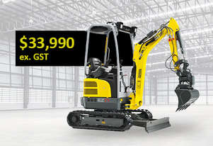 Wacker Neuson EZ17 Now Available