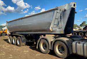 ROADWEST tri axle lead trailer