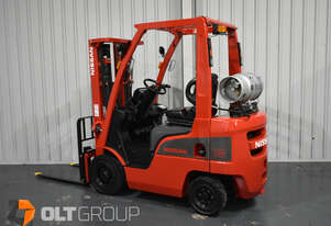 Nissan 1.8 Tonne Forklift Container Mast LPG EFI Engine 4.3m Lift Height Sideshift