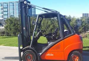 Used Forklift:  H30T Genuine Preowned Linde 3t