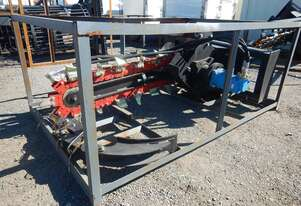 Hydraulic Trencher to suit Skidsteer Loader