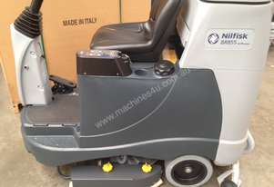 Nilfisk BR855 ride on scrubber