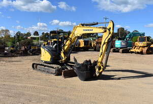 2015 Yanmar VIO55, 5 Tonne Mini Excavator for Sale