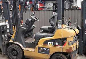 Used 1.8T Cat LPG Forklift GPE18NT