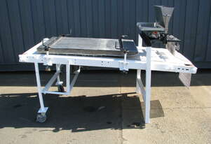 Bakery Bun Roll Dough Moulder Conveyor - 2m Long
