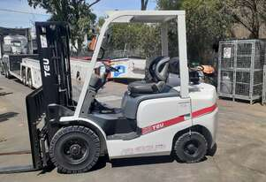 2018 TEU Forklift Container Entry Mast 2.5 Ton 4500mm lift height Excellent Condition