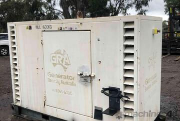Generator 15kva nissan diesel with stamford alternator.