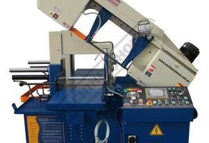 BS-330FAS NC Swivel Head Metal Cutting Band Saw - Automatic Hitch Feed Inverter Variable Blade Speed