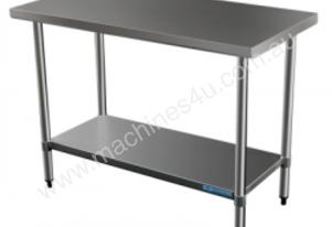 Brayco 2436 Flat Top Stainless Steel Bench (610mmW