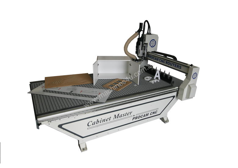Cabinet Master Nesting CNC including Extraction  &