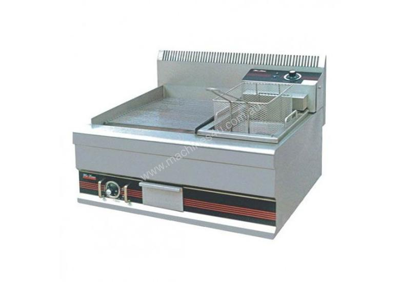 New Fischer Gfc 851 Double Deep Fryer In Listed On