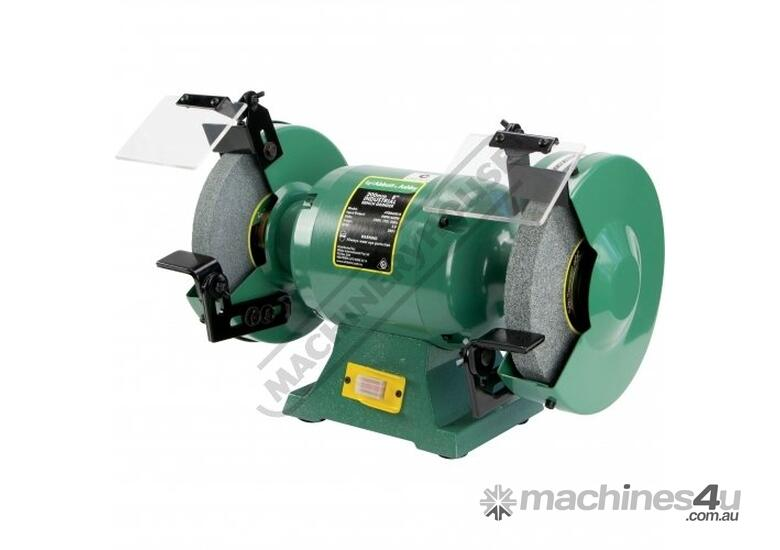 ATBG600/8 Industrial Bench Grinder Ø200mm Fine & Coarse Wheels 0.6kW - 0.8HP Motor Power