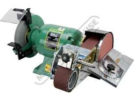 ATBG600/8 Industrial Bench Grinder Ø200mm Fine & Coarse Wheels 0.6kW - 0.8HP Motor Power - picture2' - Click to enlarge