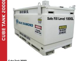 Diesel Fuel Tank 2000L Self Bunded Baffled - picture2' - Click to enlarge