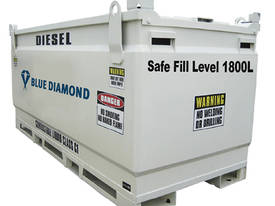 Diesel Fuel Tank 2000L Self Bunded Baffled - picture0' - Click to enlarge