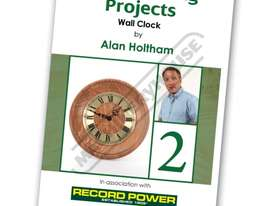 RPDVD09 Woodworking Projects DVD - Wall Clock with