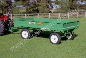 No. 6 Four Wheel 3 Tonne Capacity Farm Trailer