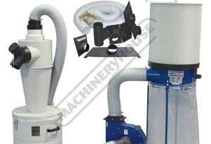 DCC-310 Dust Collector & Cyclone Separator Package Deal 1200cfm - LPHV System Includes Hose Kit