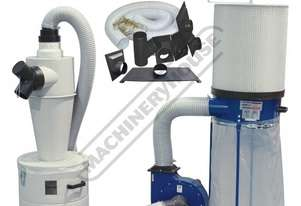 DCC-310 Dust Collector & Cyclone Separator Package Deal Includes Hose Kit 1200cfm - LPHV System