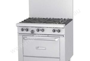 Garland GF36-4G12T Burner Gas Range w/ Griddle & Modulating Thermostatic