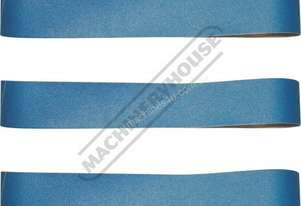 A8074 80G Zirconia Linishing Belt Pack 1500 x 100mm (59