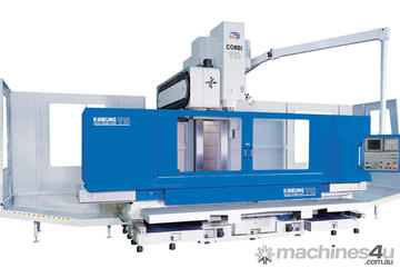 CNC Bed type vertical machining center COMBI-V10