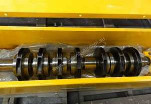 centrifugal pump rotor 7 x 300mm impellers 2450mm