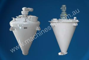 Conical Screw Mixer: Powder + Granule: Fast Mix