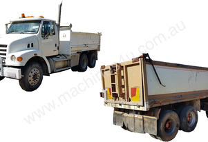 Sterling Dual Axle Tipper & Alloy Tipper, EMUS