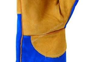 Blue & Gold Welding Gloves