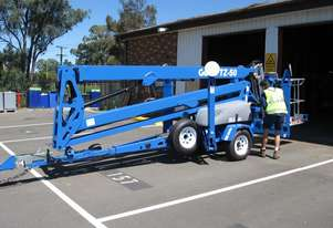 GENIE TZ 50 Drive & Set Trailer-Mounted Boom