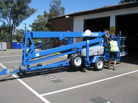 GENIE TZ 50 Drive & Set Trailer-Mounted Boom - picture0' - Click to enlarge