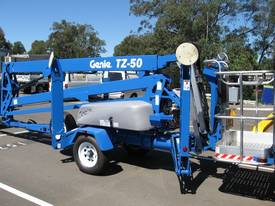 GENIE TZ 50 Trailer-Mounted Boom - picture0' - Click to enlarge