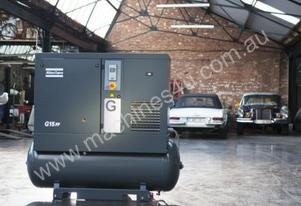 ELECTRIC ROTARY SCREW COMPRESSORS -110 CFM - G22