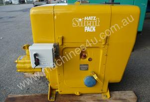 HATZ COMMERCIAL AIR COOLED HYDRAULIC POWER PACK