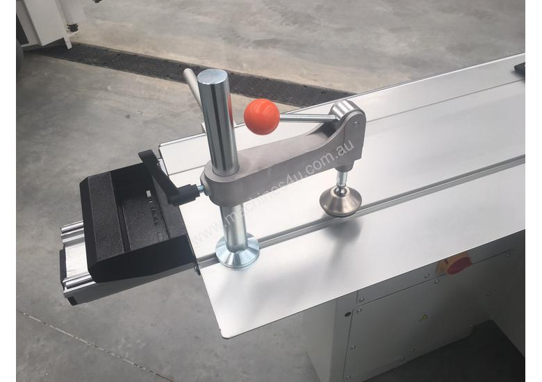 Electronic Fence, powered rise/fall/tilt Heavy duty Panelsaw