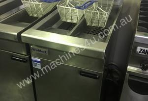 Waldorf Twin Pan Gas Fryer FN8226