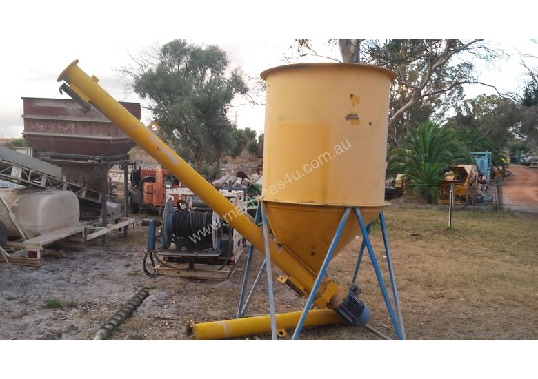 Used Cement Auger Cement Auger And Hopper Feeders